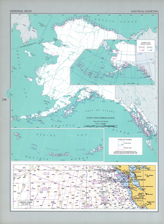 Cartas Náuticas de Alaska, Estados Unidos