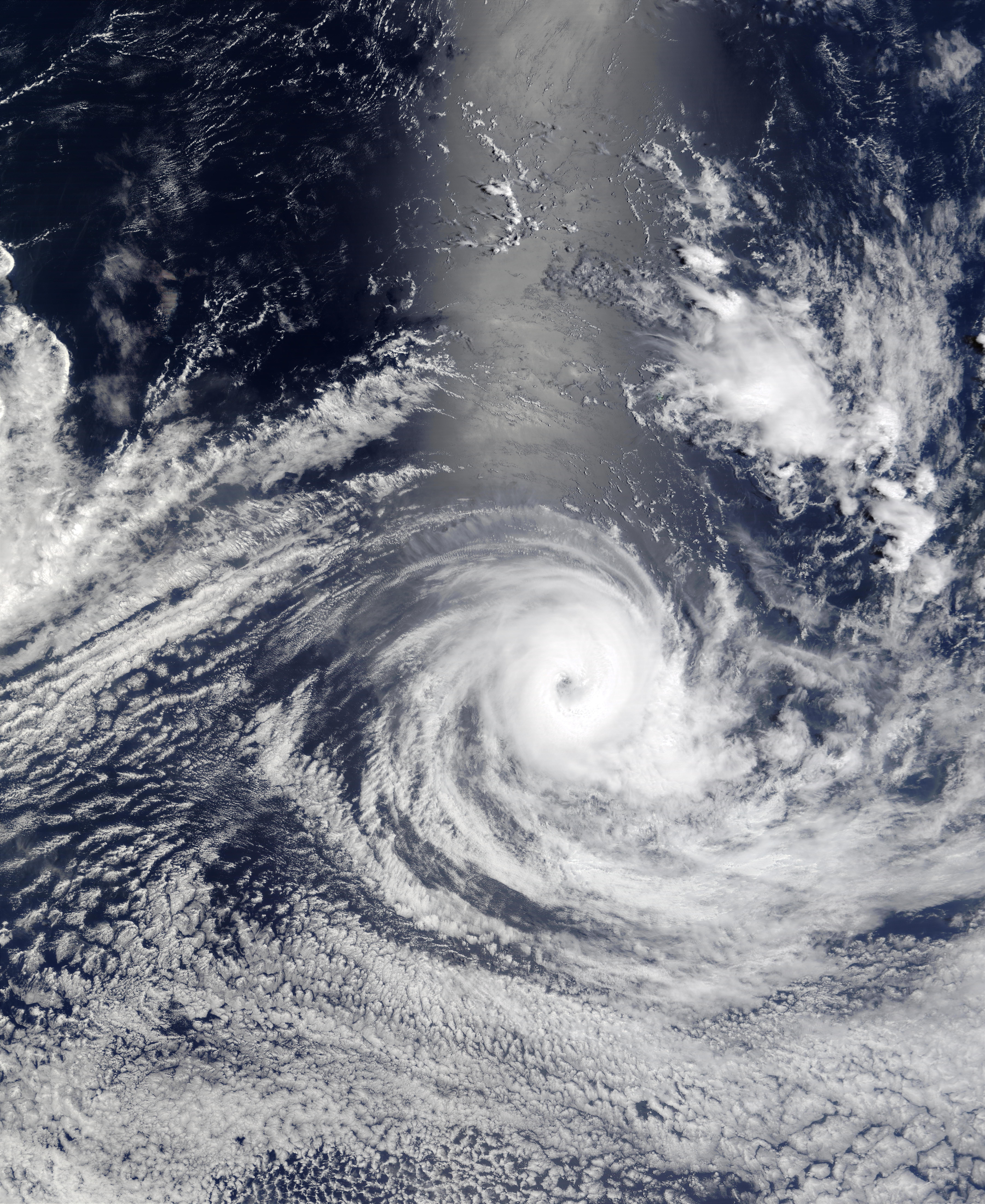 Tropical Cyclone Fiona (14S), south of Sumatra