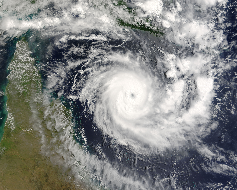 Tropical Cyclone Ingrid (22P) east of the Cape York Peninsula, Australia