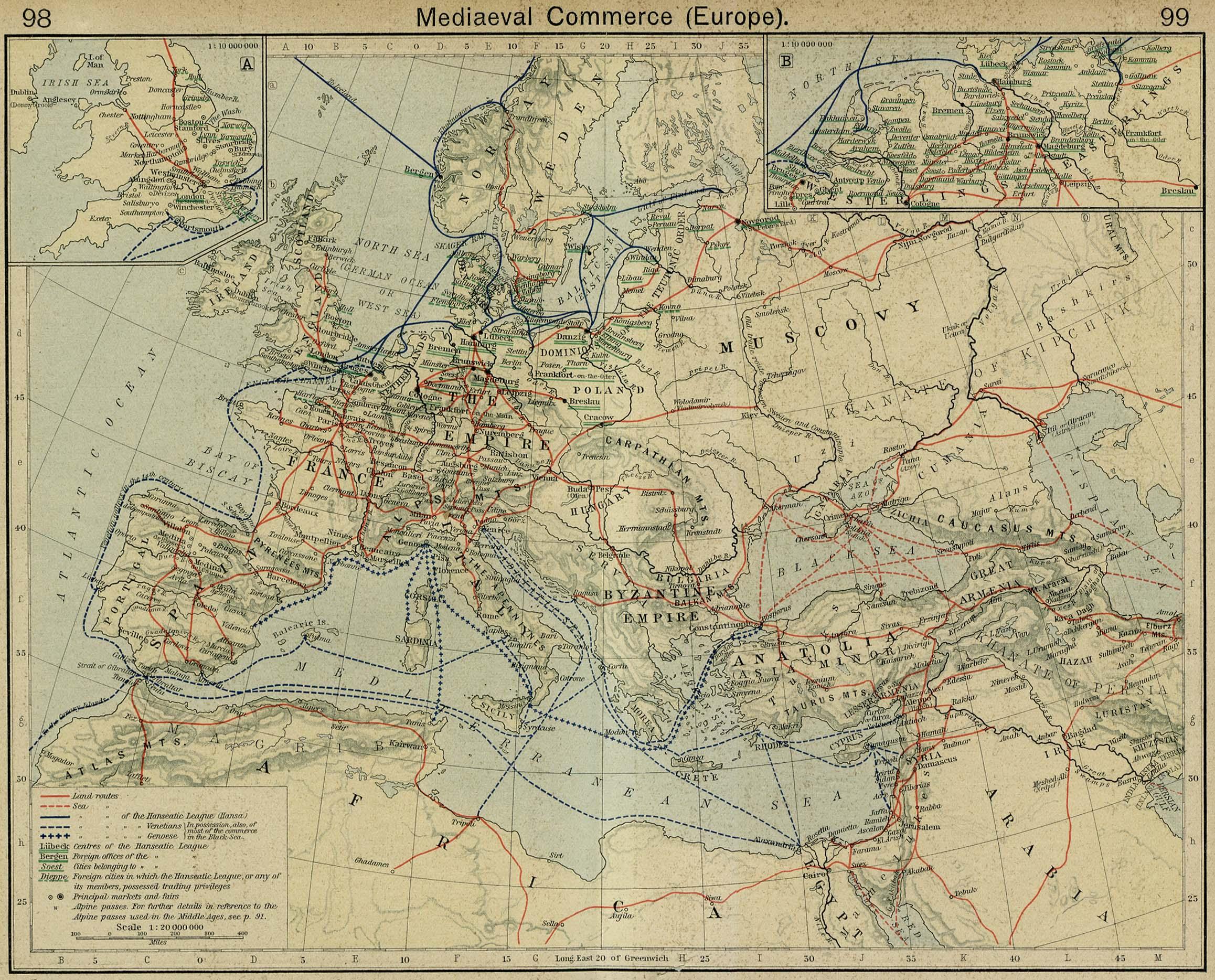 Comercio en la Europa de la Edad Media