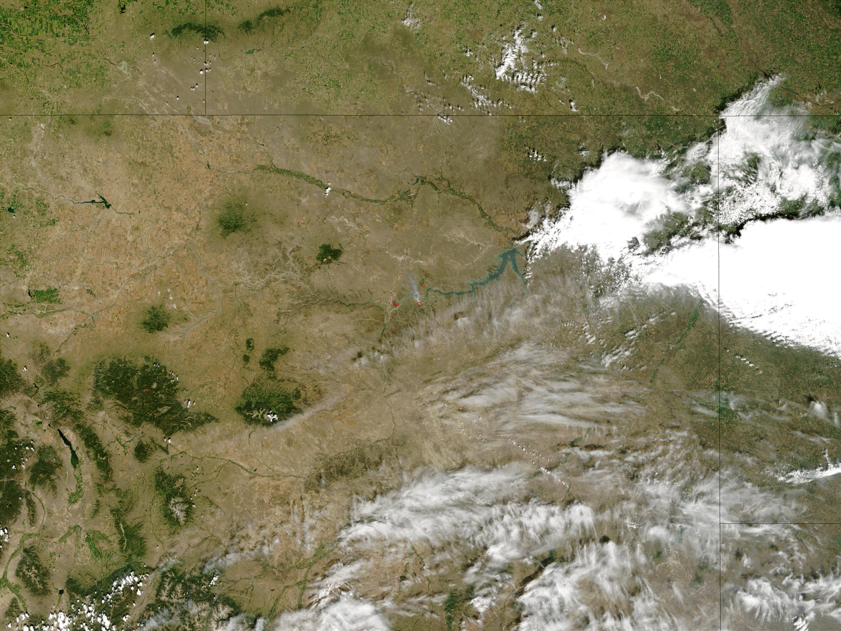 Missouri Breaks Complex Fire, Montana