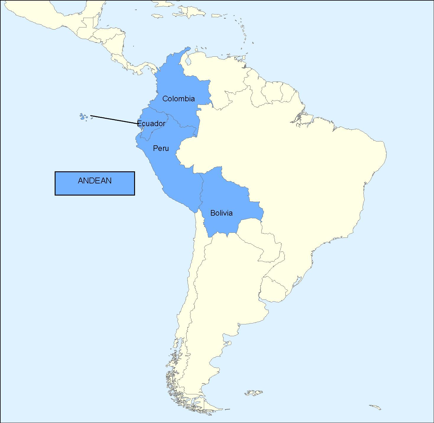 Comunidad Andina de Naciones 2006