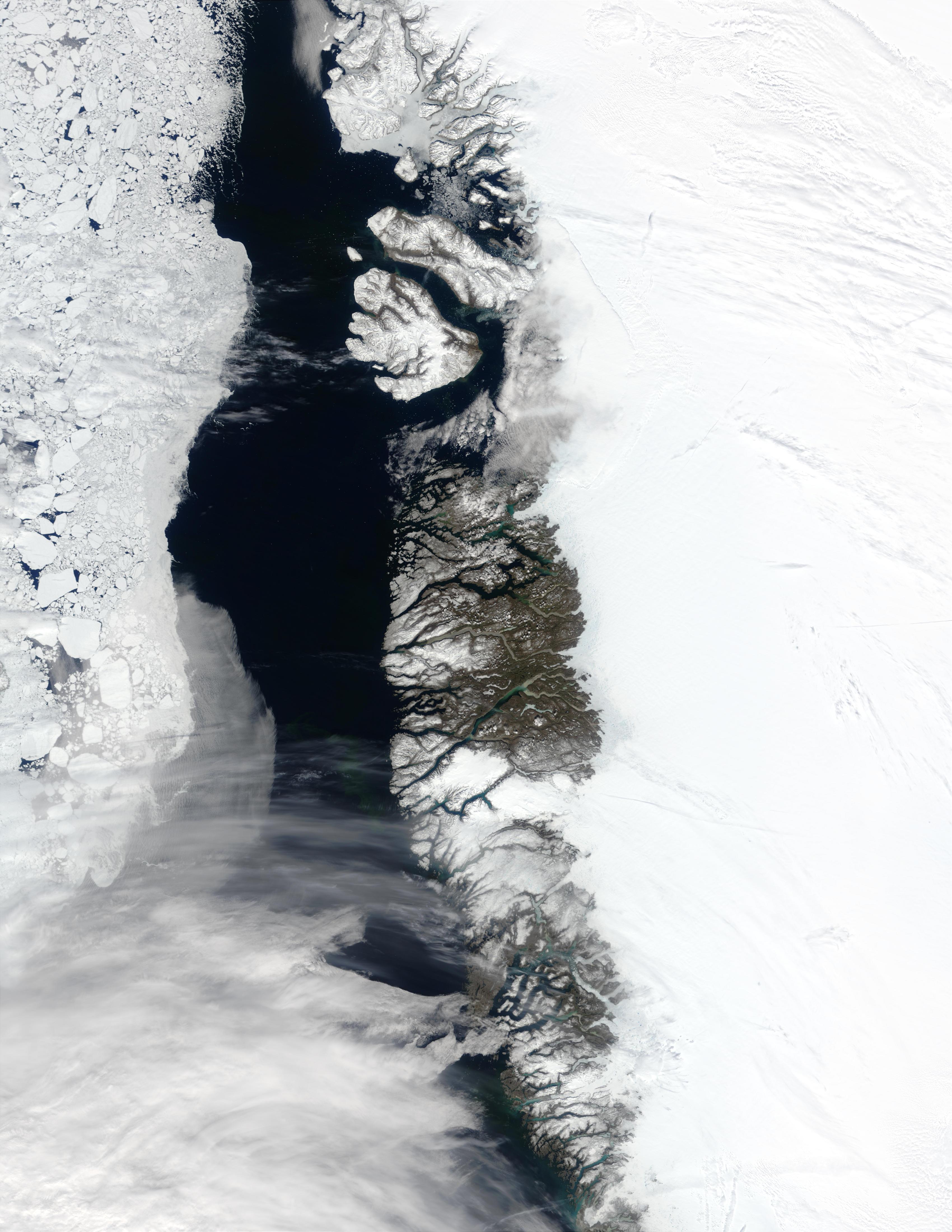 Costa oeste de Groenlandia