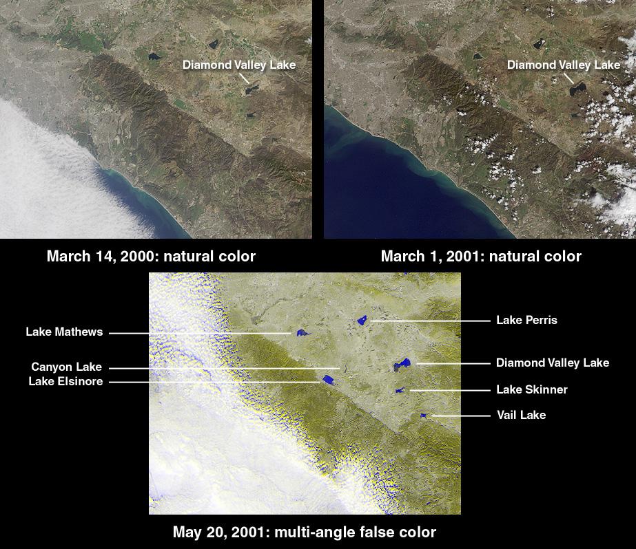 Creación del embalse más grande del Sur de California