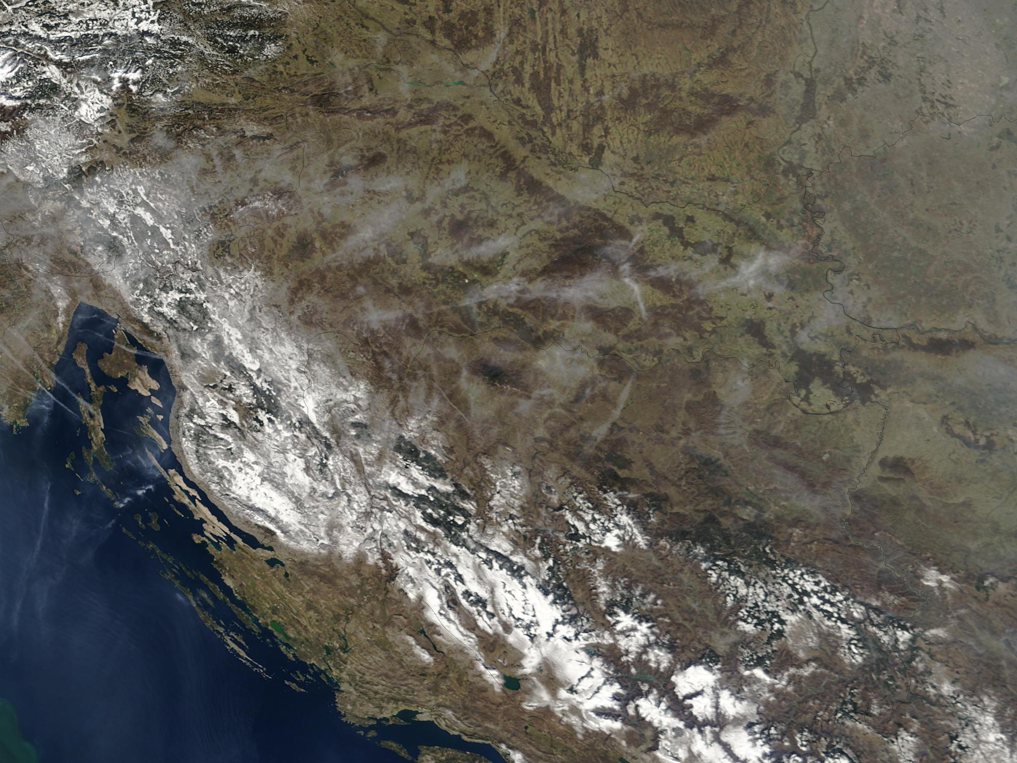 Croacia (antes de las inundaciones)