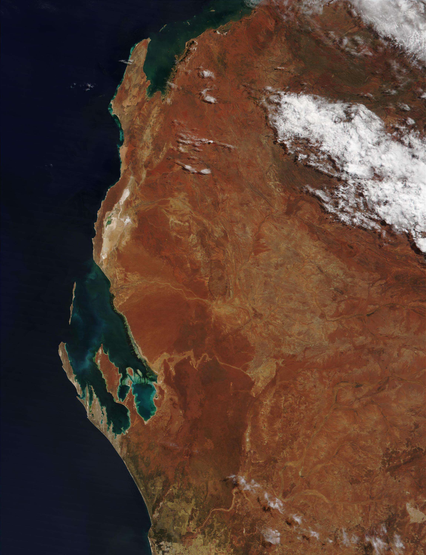 Cuenca Noroccidental y Bahía Shark, Australia occidental