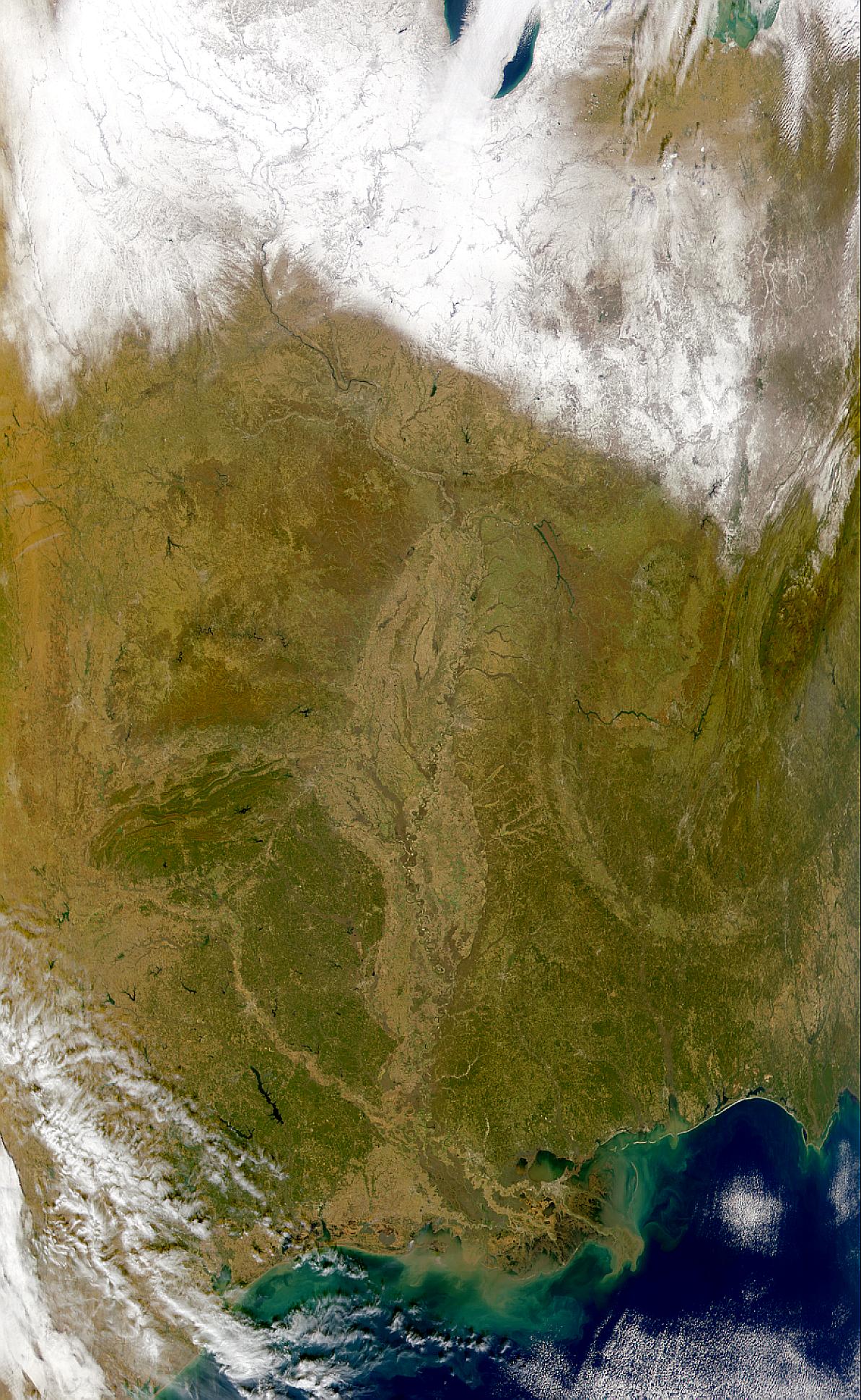 Cuenca hidrográfica del río Misisipi