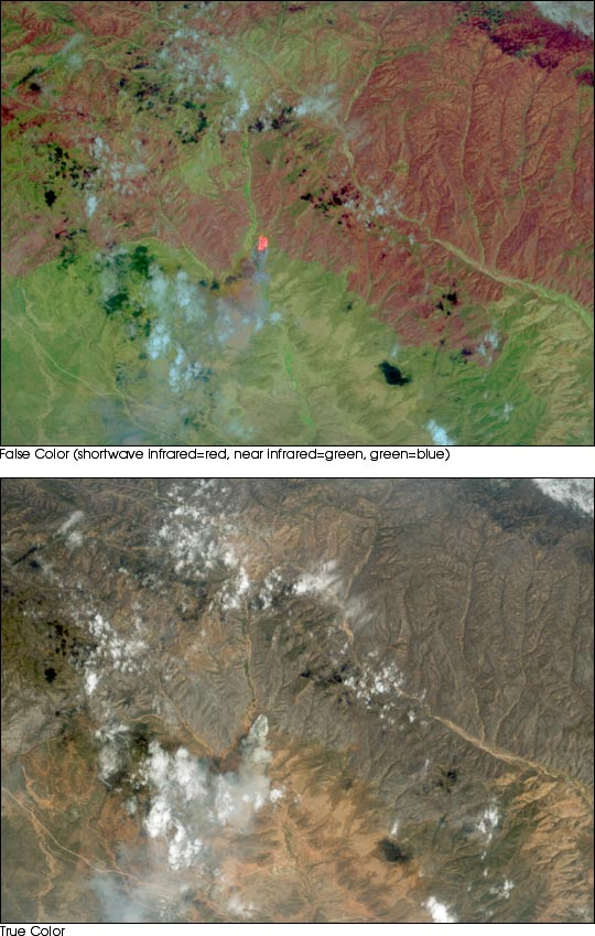 Aircraft Data of the Rodeo/Chediski Fire