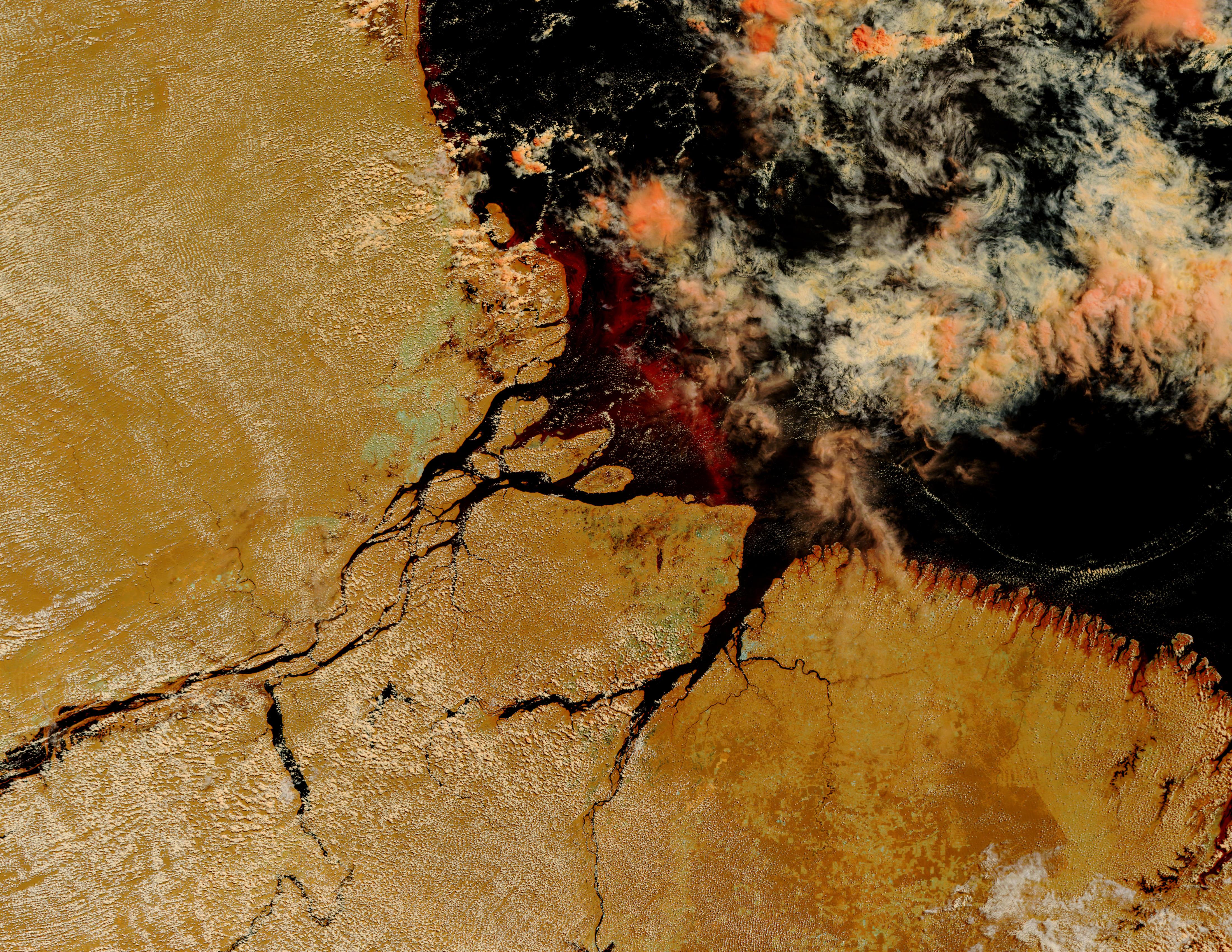 Desembocadura del río Amazonas, Brasil