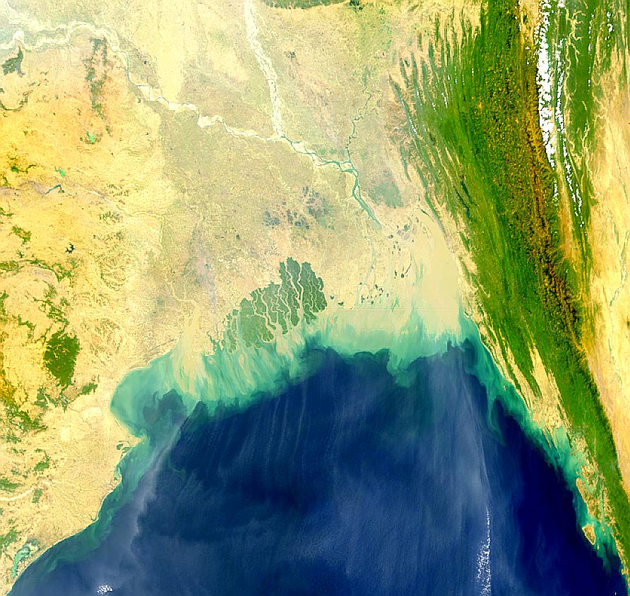 Desembocadura del río Ganges