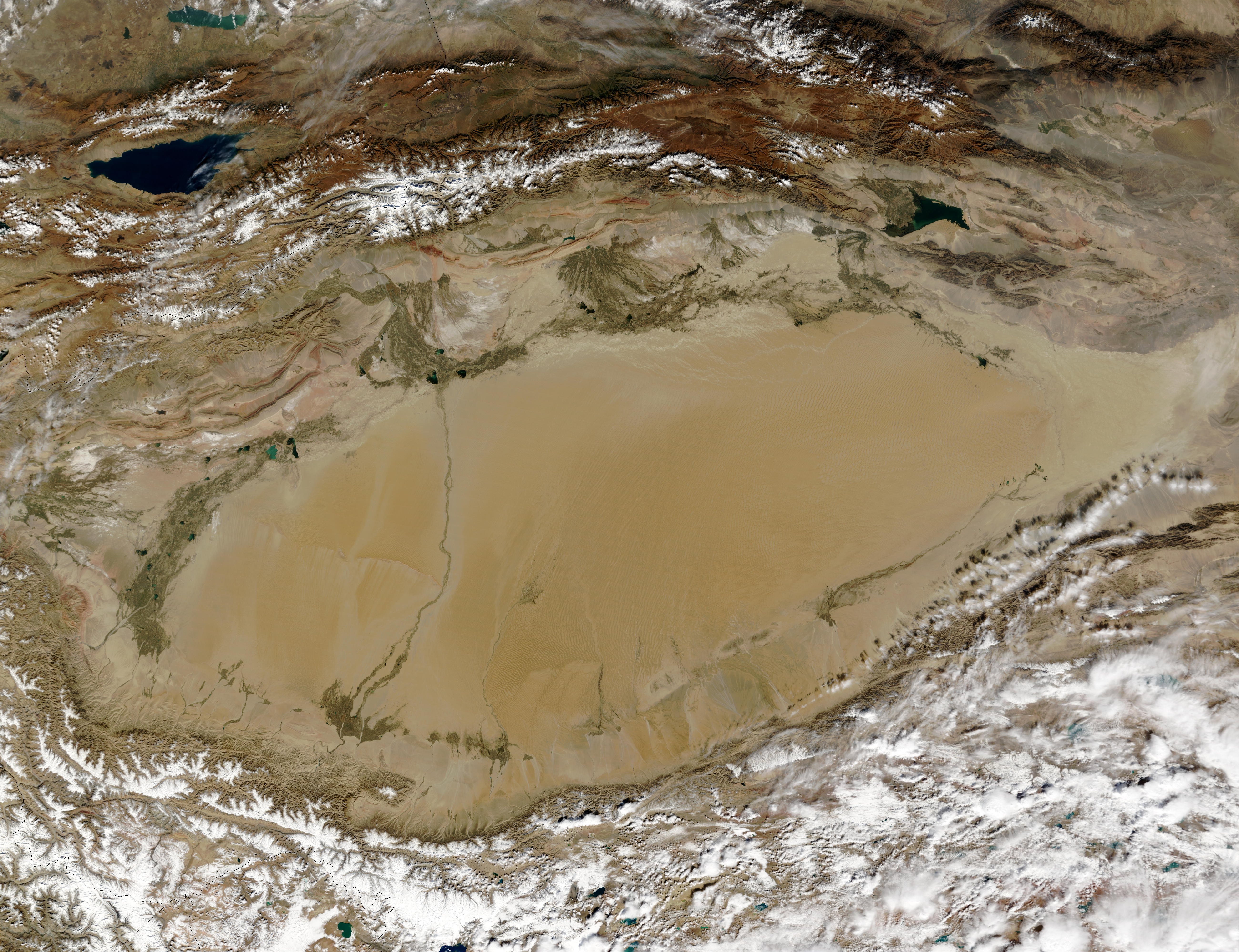 Taklimakan Desert, Western China