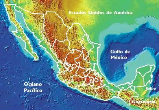 Geoestadistic Map by Federal State, Mexico