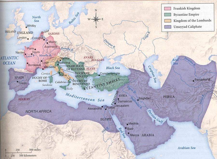 El Califato Omeya 661–750