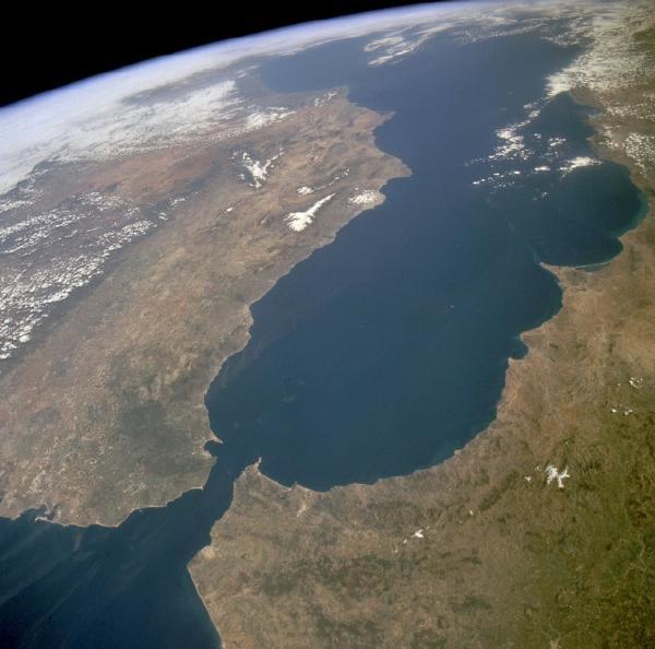 El Estrecho de Gibraltar una separación natural entre Europa y África