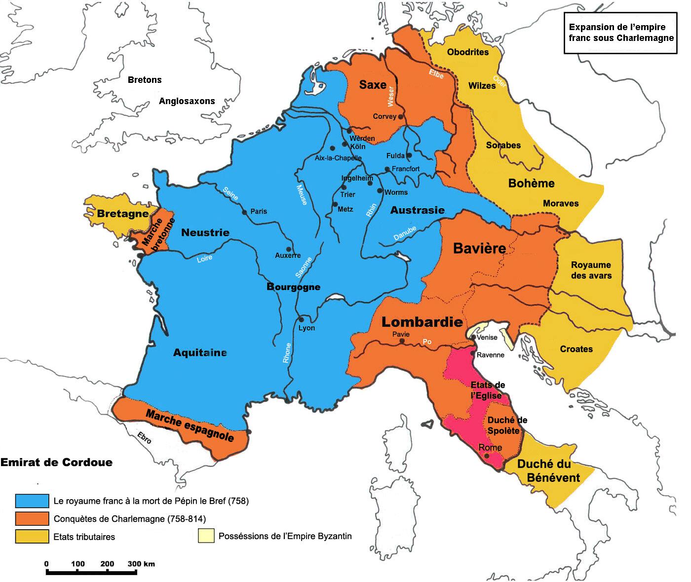 El Imperio Carolingio bajo Carlomagno 768-811