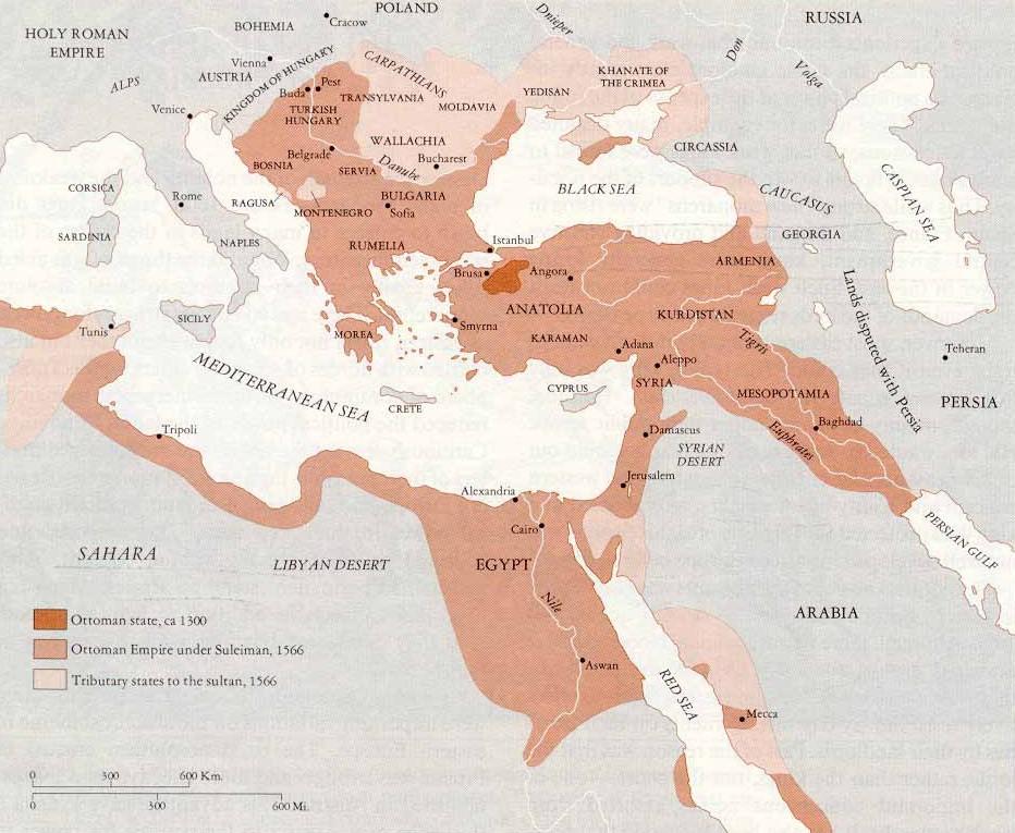 El Imperio Otomano 1300-1566