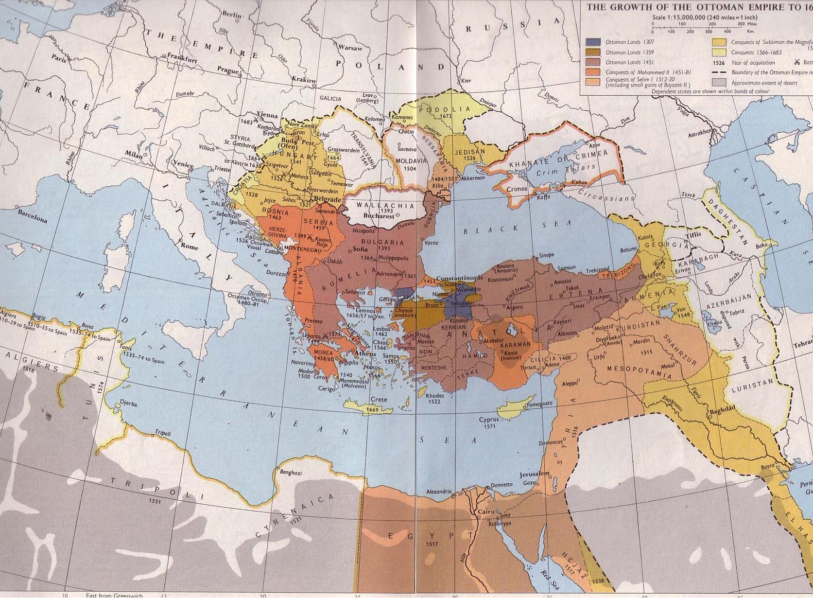 El Imperio Otomano 1307-1687