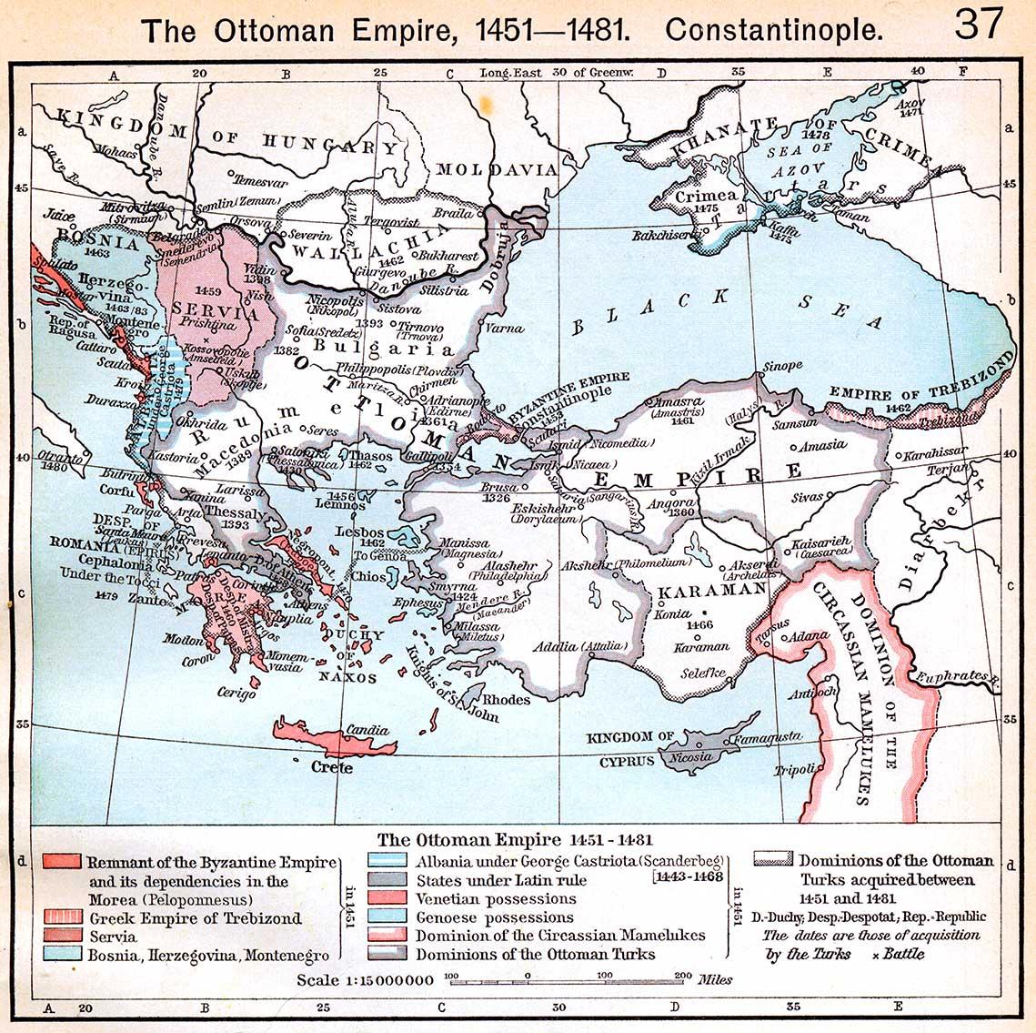 El Imperio Otomano 1451-1481