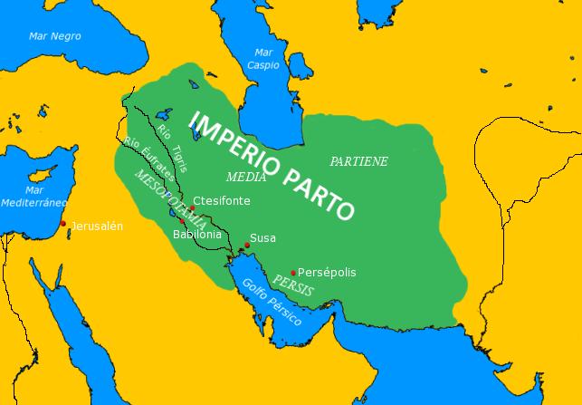 El Imperio Parto o Arsácida 1 aC
