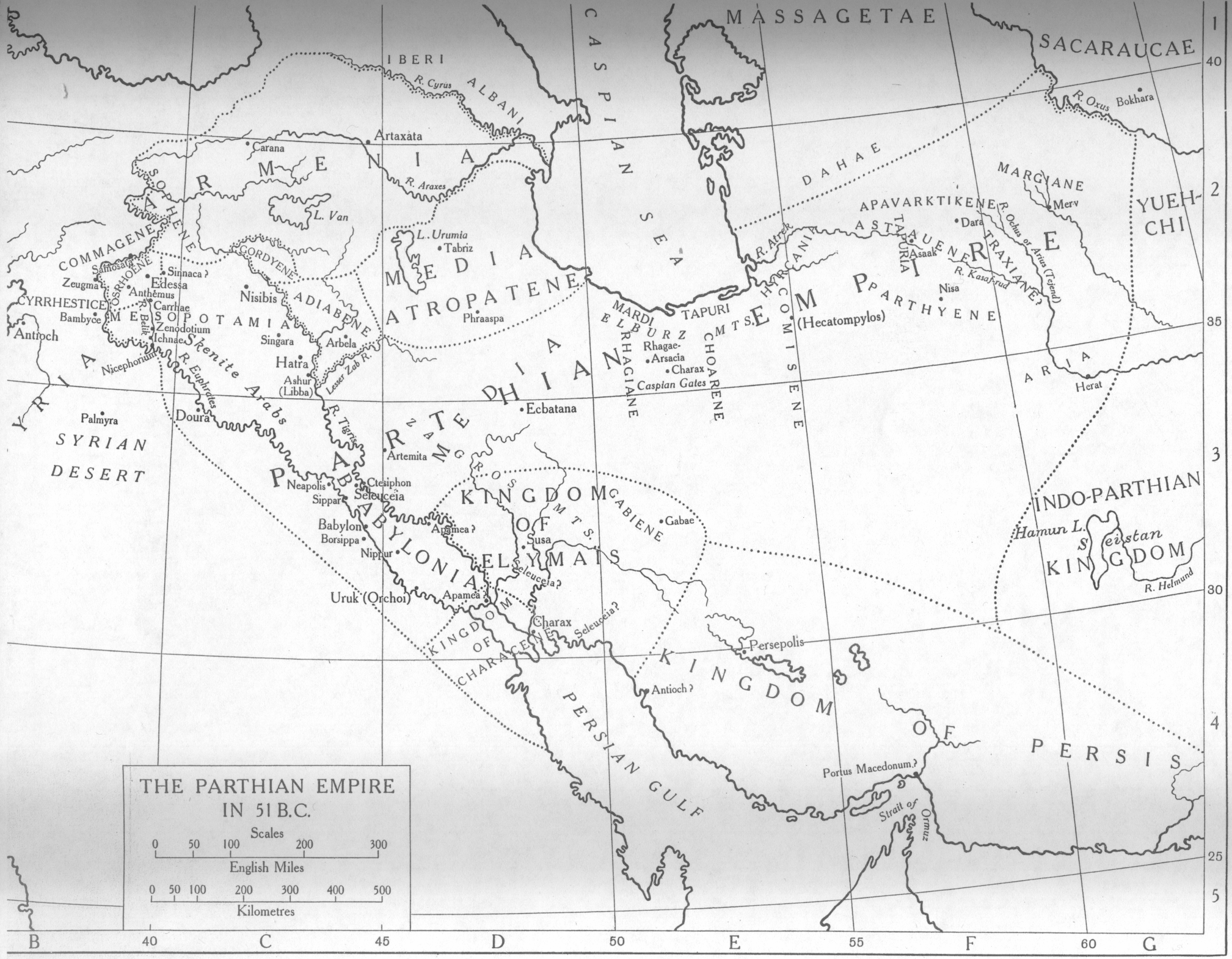 El Imperio Parto o Arsácida 51 aC