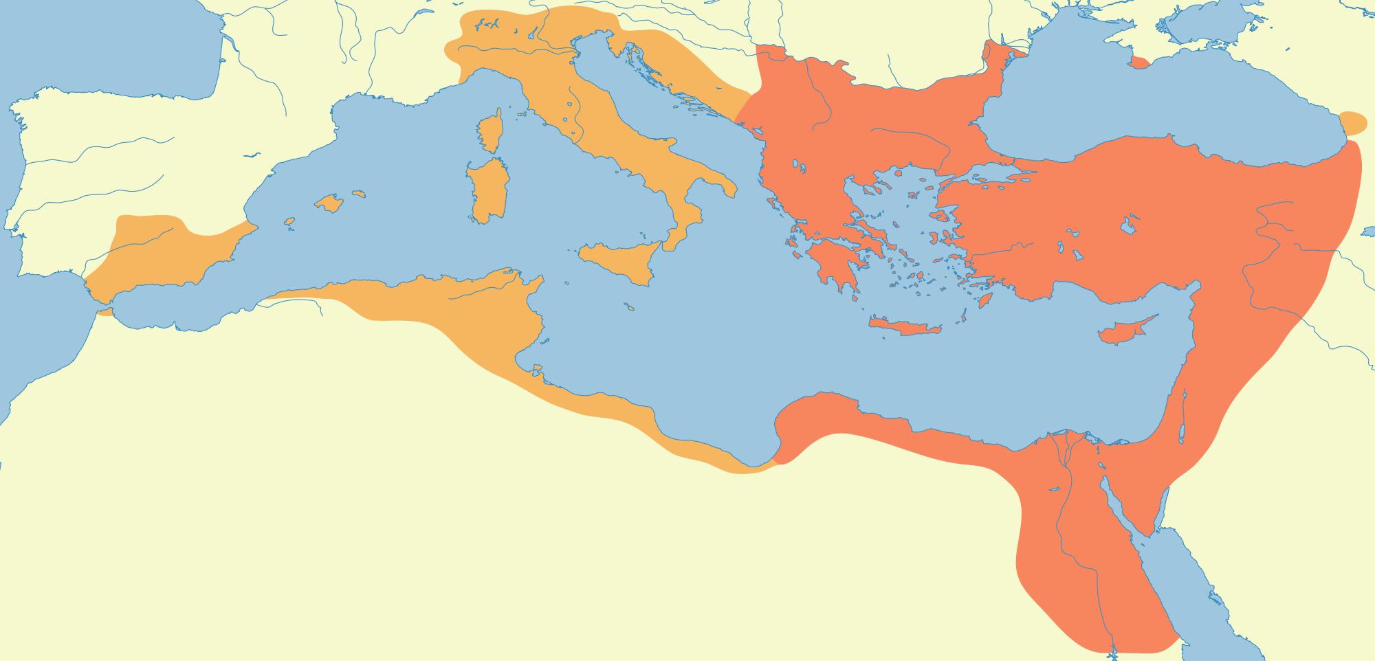 El Imperio Romano de Oriente 527-565