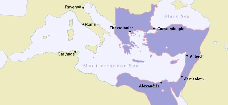 El Imperio Romano de Oriente en 480
