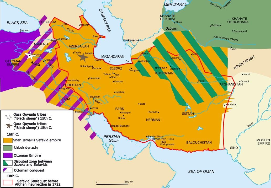 El Imperio Safávida o Dinastía Safawi 1501-1722