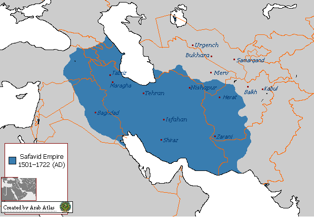 The Safavid Empire or Safavid Dynasty 1501-1722