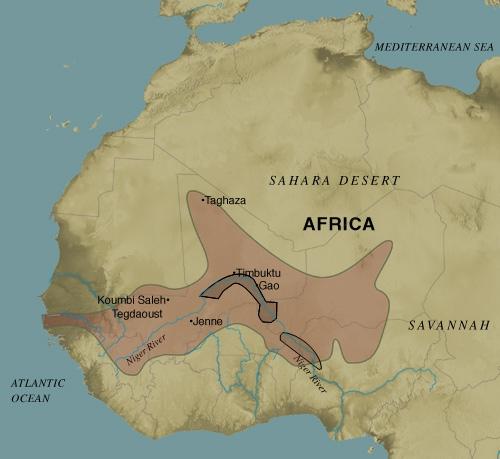 El Imperio Songhay c. 1375-1591