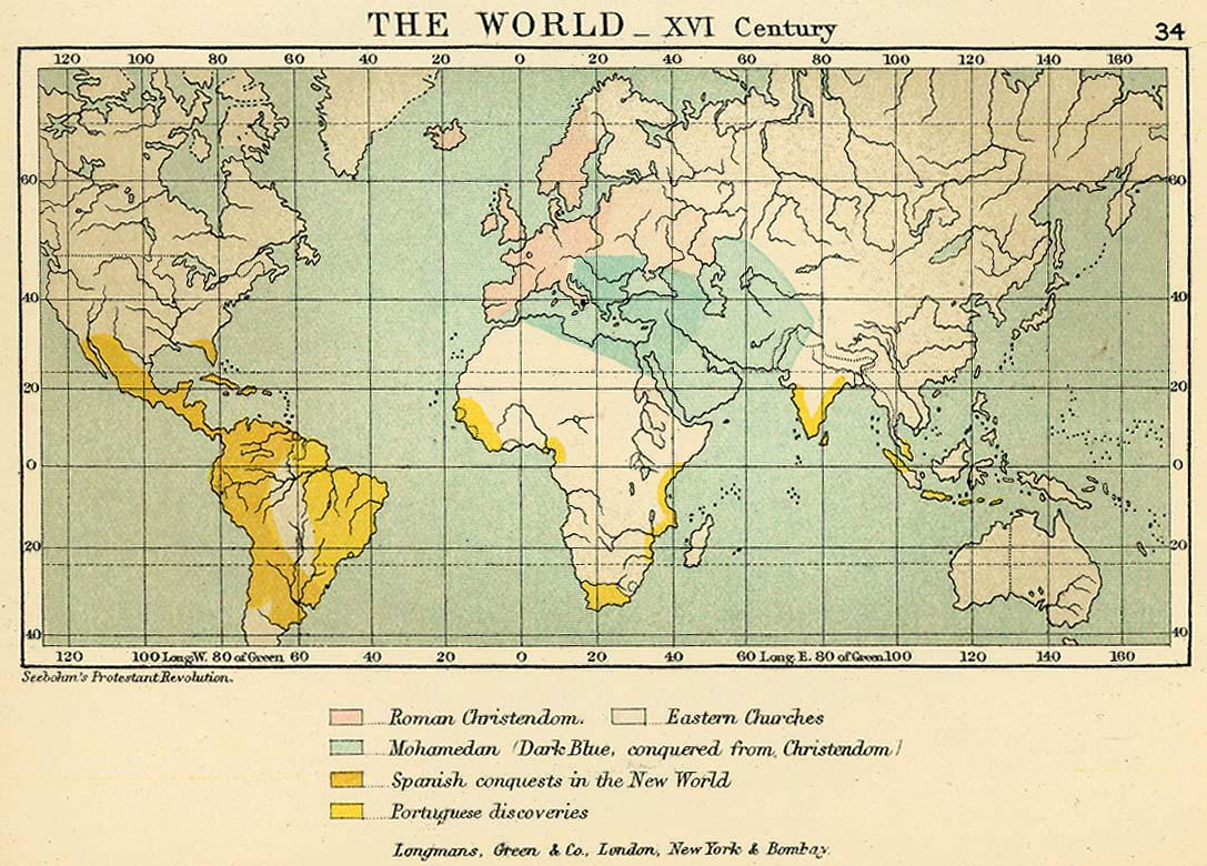 The World in the 16th Century