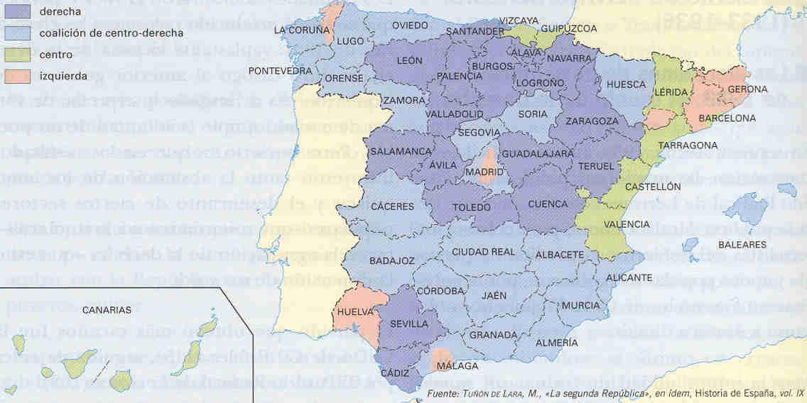 Elecciones generales de España de 1933