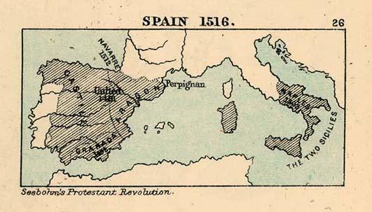 España en 1516