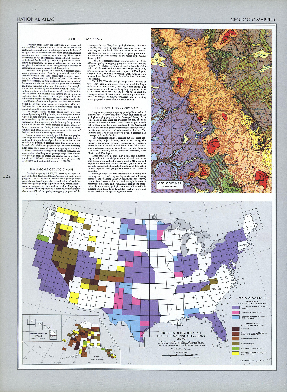 United States Geologic Mapping Explication