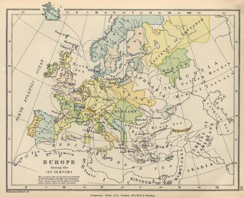 Europa durante el siglo XV
