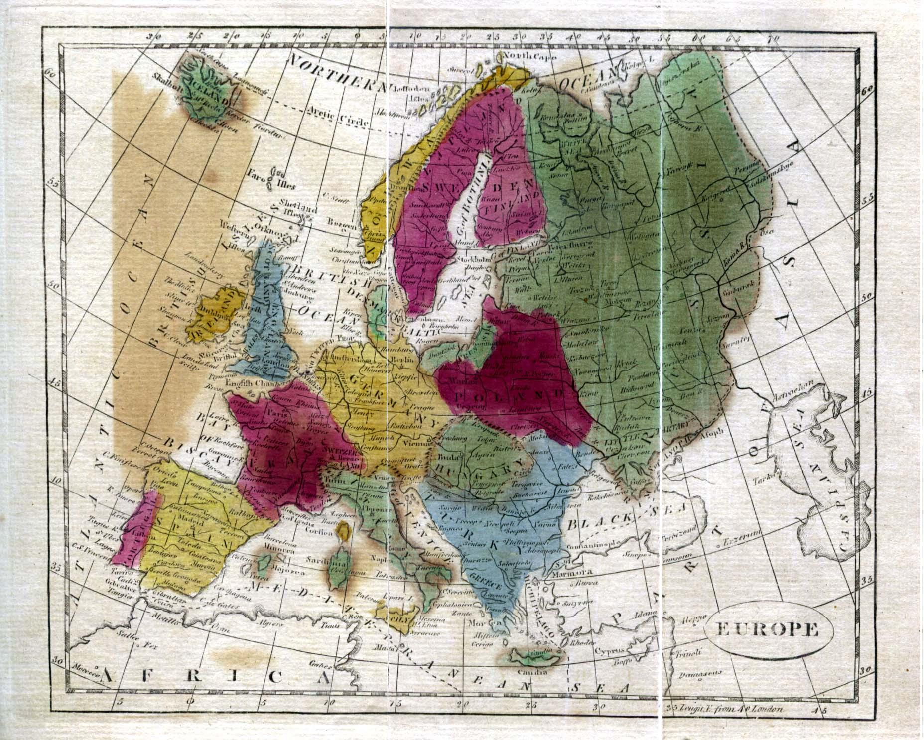 Europa en 1808