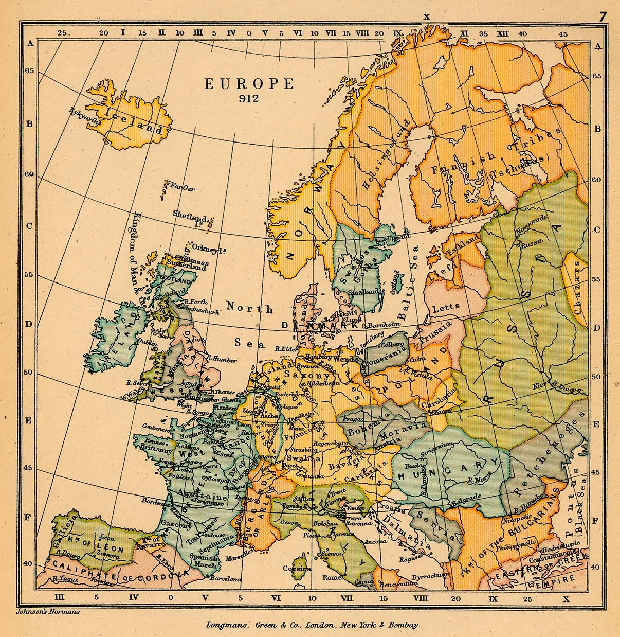 Europa en 912