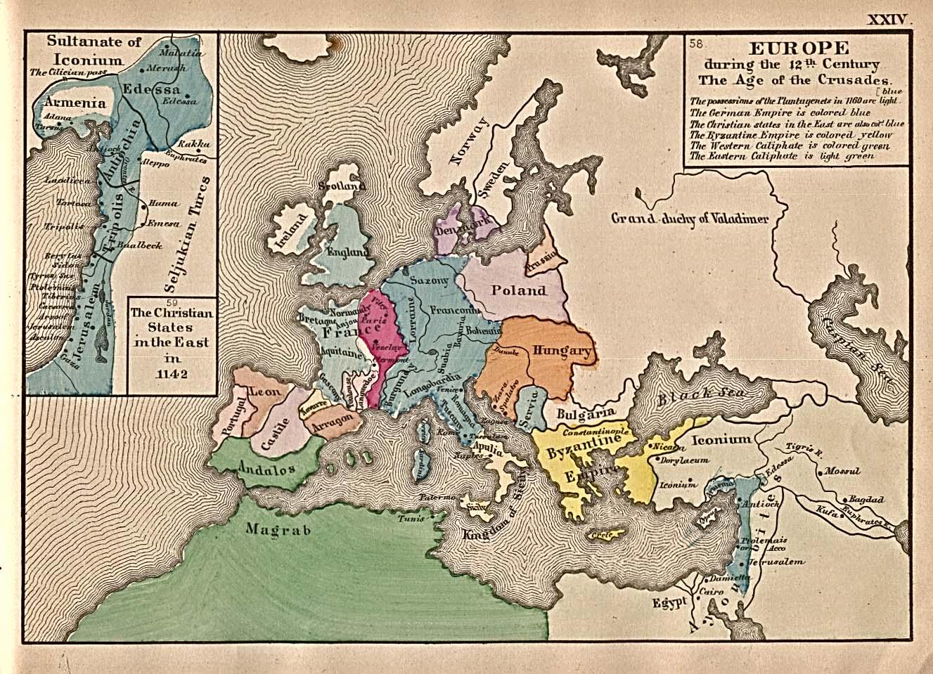 Europa en el Siglo XII