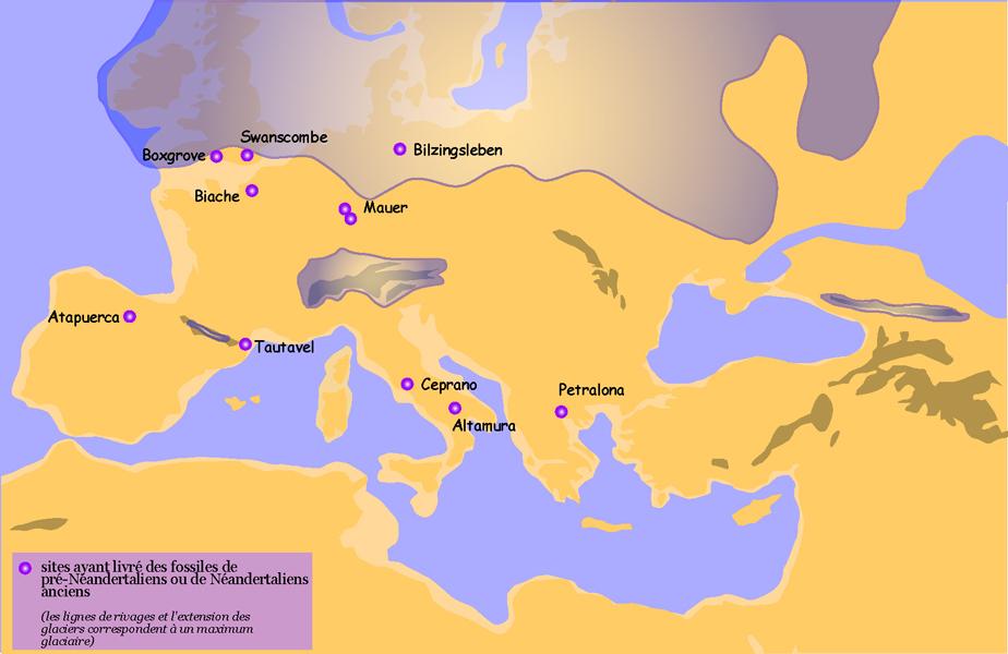 Europa pre-neandertal