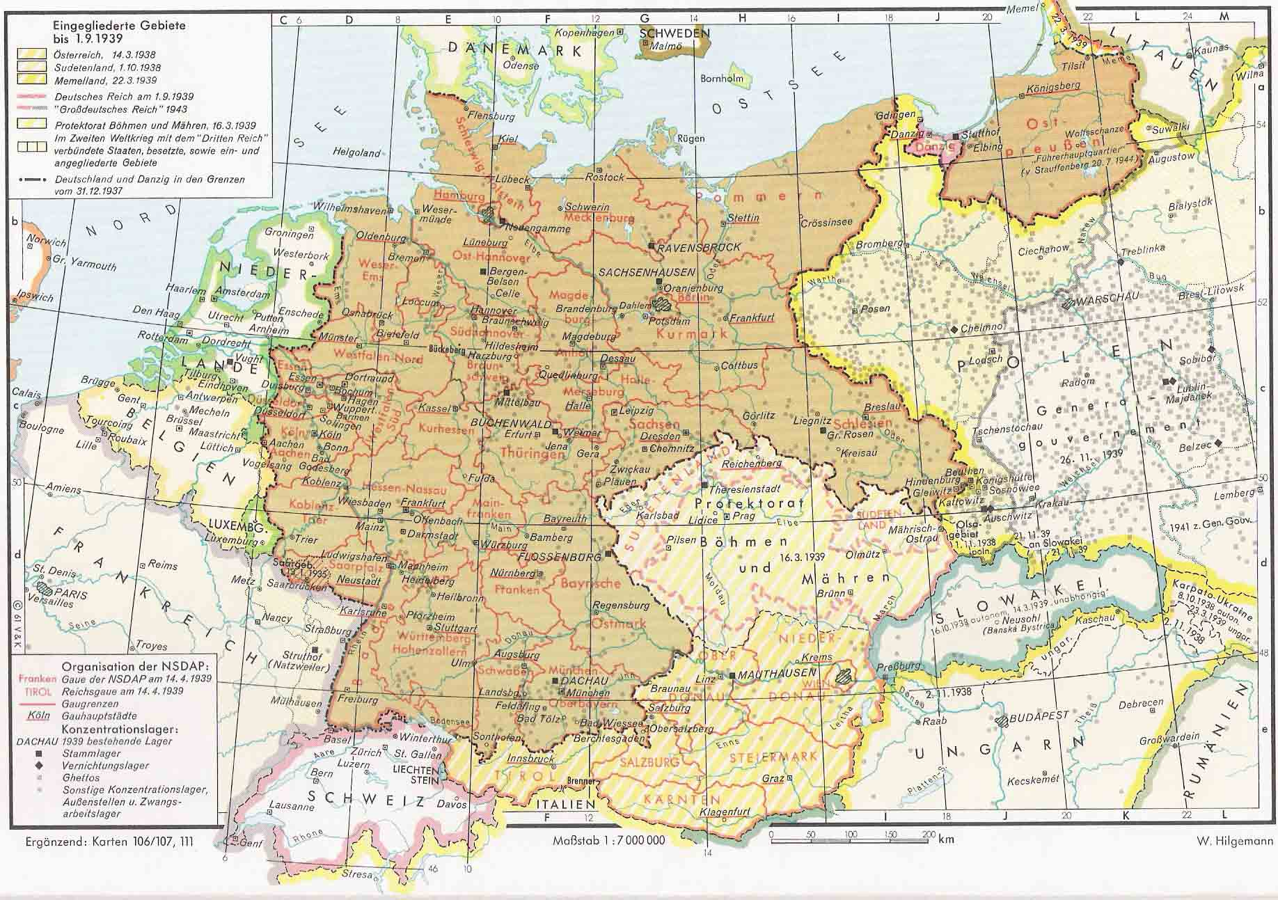 Expansionismo nazi 1937-1939