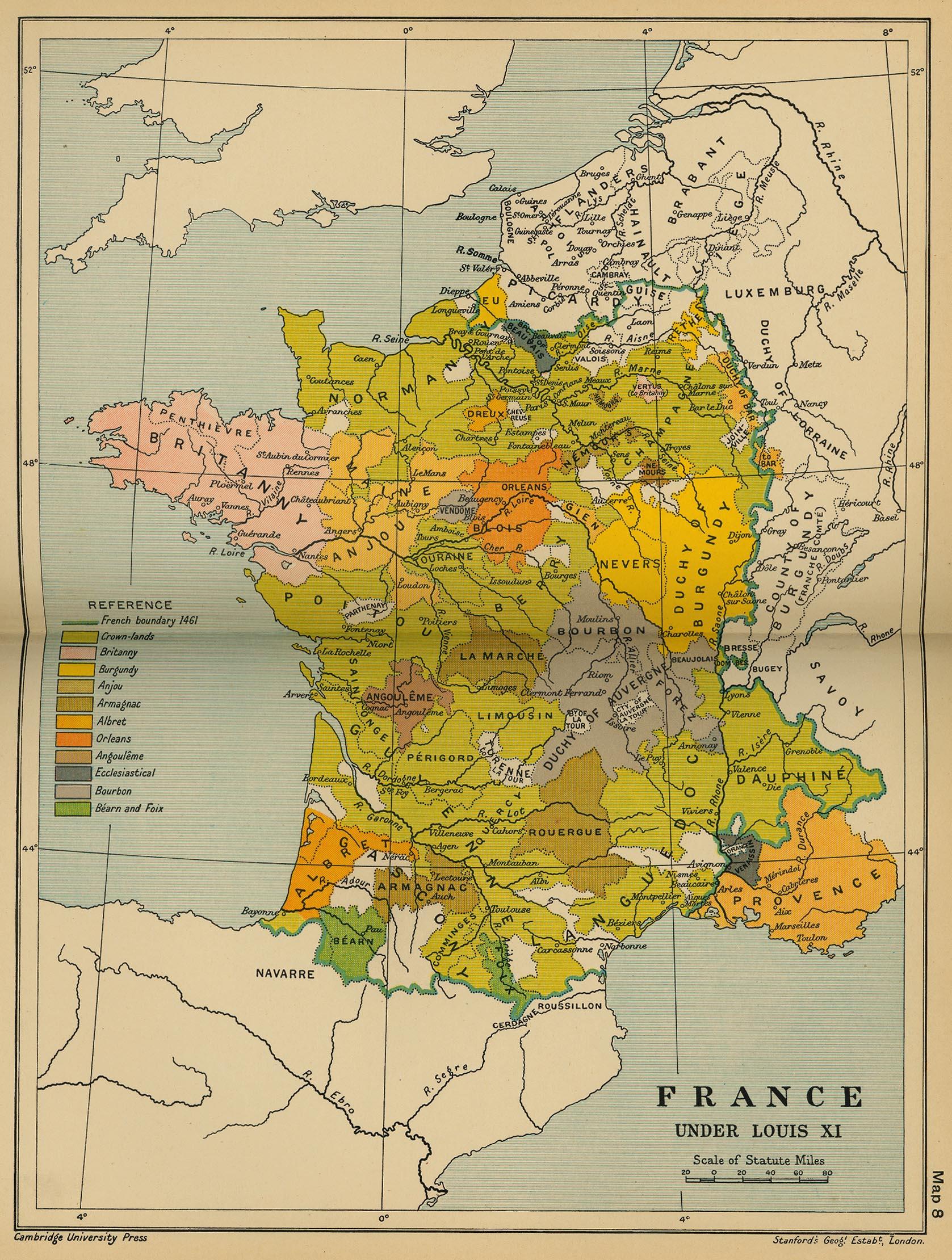 Francia Bajo Luis XI