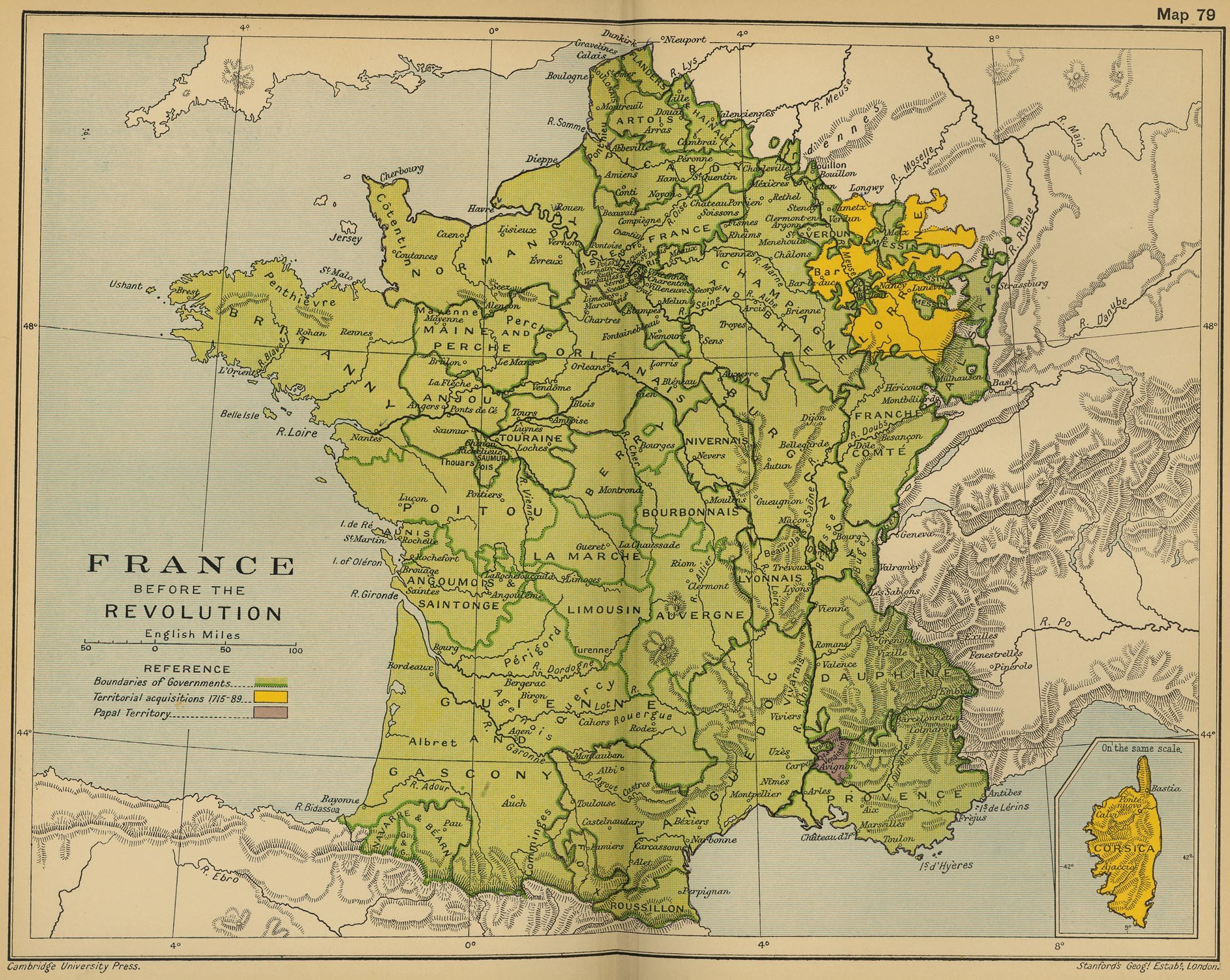 Francia antes de la Revolución 1789