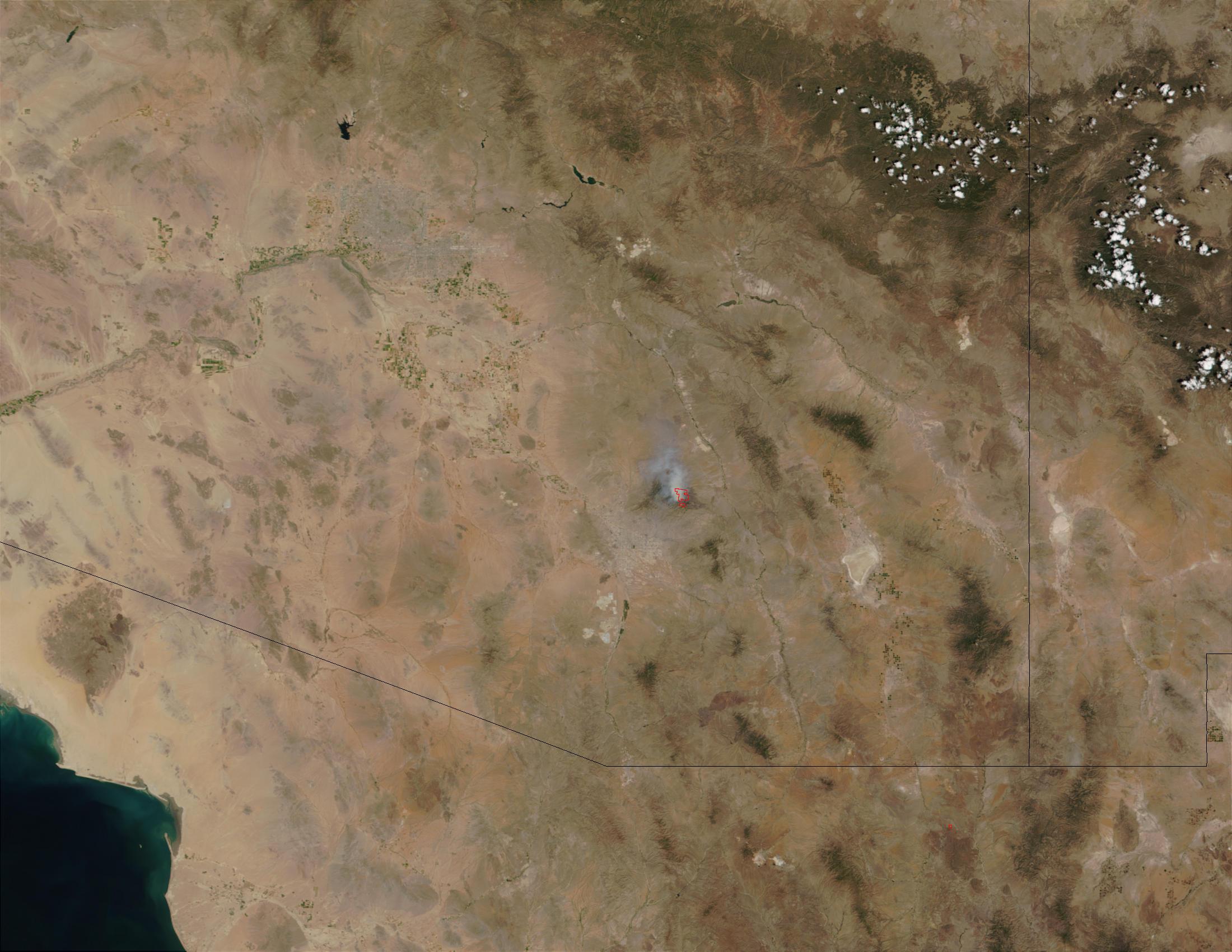 Bullock fire, Arizona