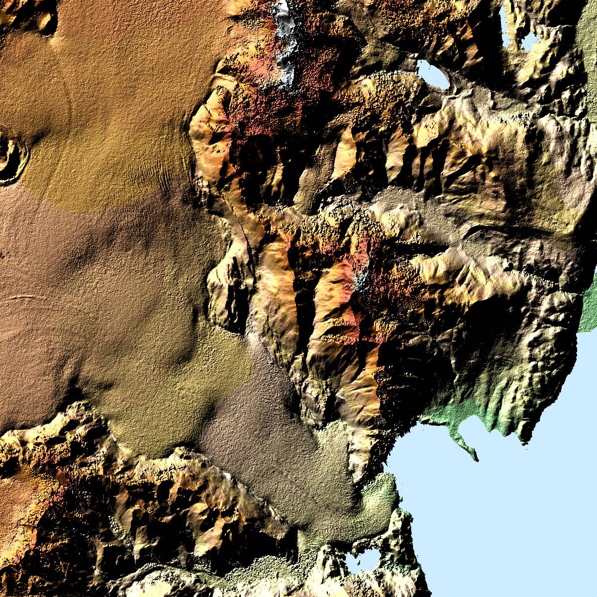 Viedma Glacier and Mount Fitzroy, Argentina