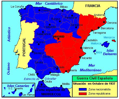 Guerra Civil Española Octubre 1937