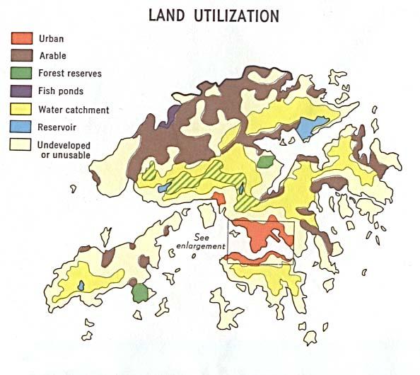 Hong Kong Land Utilization