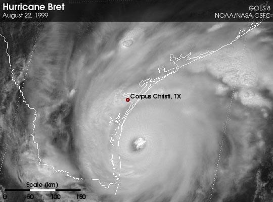 Hurricane Bret
