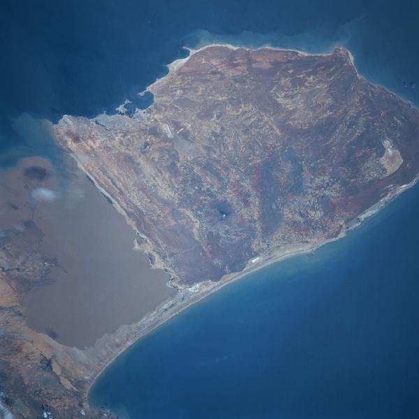 Imagen, Foto Satelite Golfo de la Peninsula Paraguana, Venezuela
