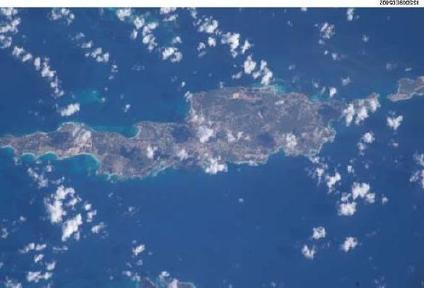 Imagen, Foto Satelite de Anguilla
