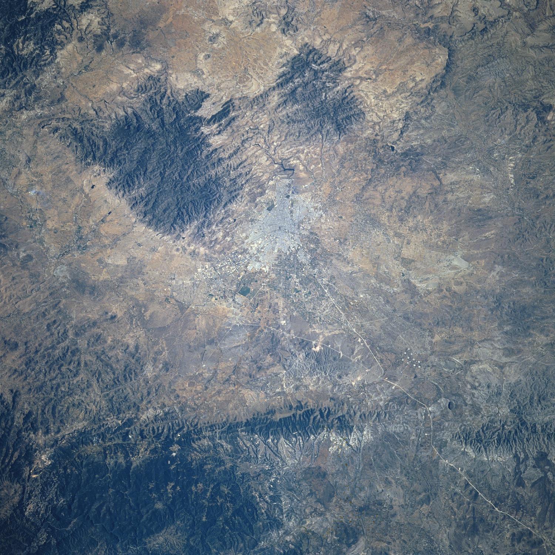 Imagen, Foto Satelite de San Luis Potosi, Mexico