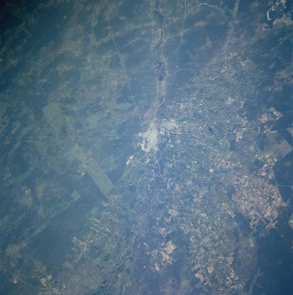 Imagen, Foto Satelite de Santiago del Estero, Prov. Santiago del Estero, Argentina